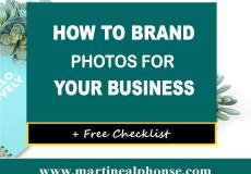 How To Brand Photos For Your Business