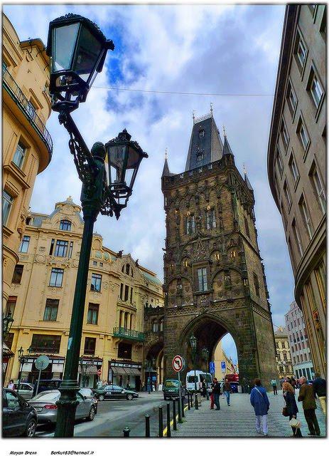 City Gate, Prague, Czech Republic