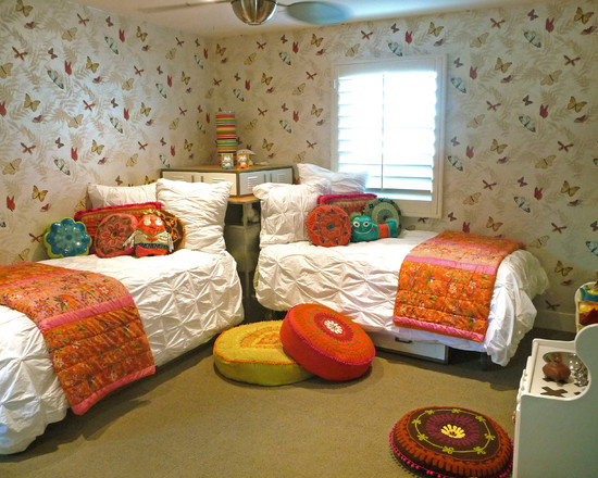 Colorful Butterfly Girl S Room (San Diego)