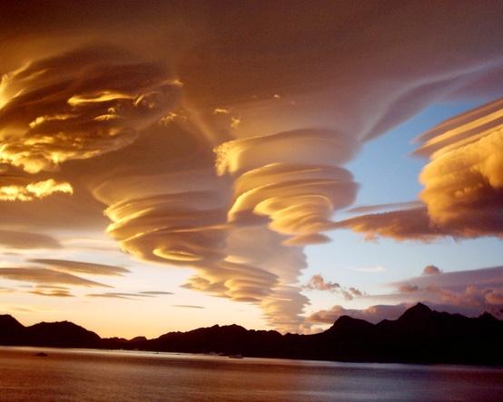Cloud Swirls, Grytviken, South Georgia Island