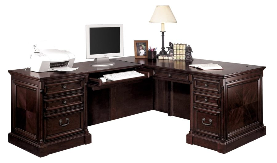 l shaped desk with left hand facing