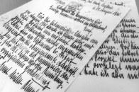 Correspondance manuscrite (1931)