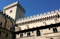 Tour de la Campane, depuis la cour du cloître