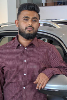 Azki Mohamed - Assistant Service Manager