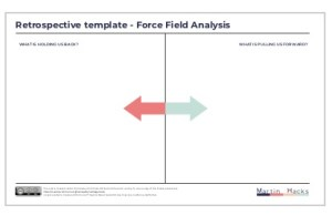 Agile Retrospective Forcefield template
