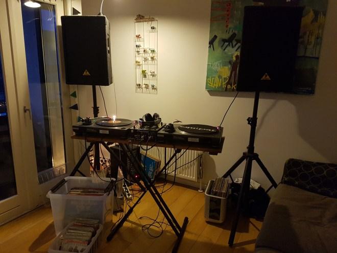 dj setup vinyl