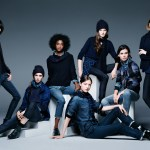 Ines de la Fressange and New Denim Wear at Uniqlo for A/W 2014