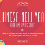Re-Style and Update this CNY with Lazada