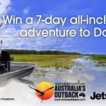 Jetstar to Australia's Outback Comfort Zone Challenge