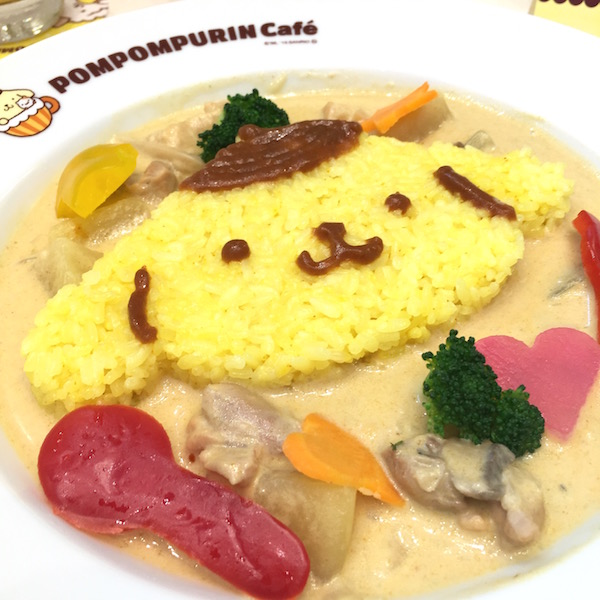 POMPOMPURIN'S Coconut Milk Chicken Curry