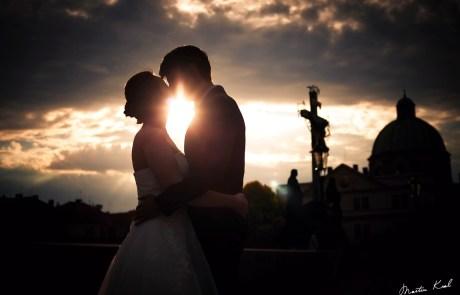 Svatební fotografie - Karlův most