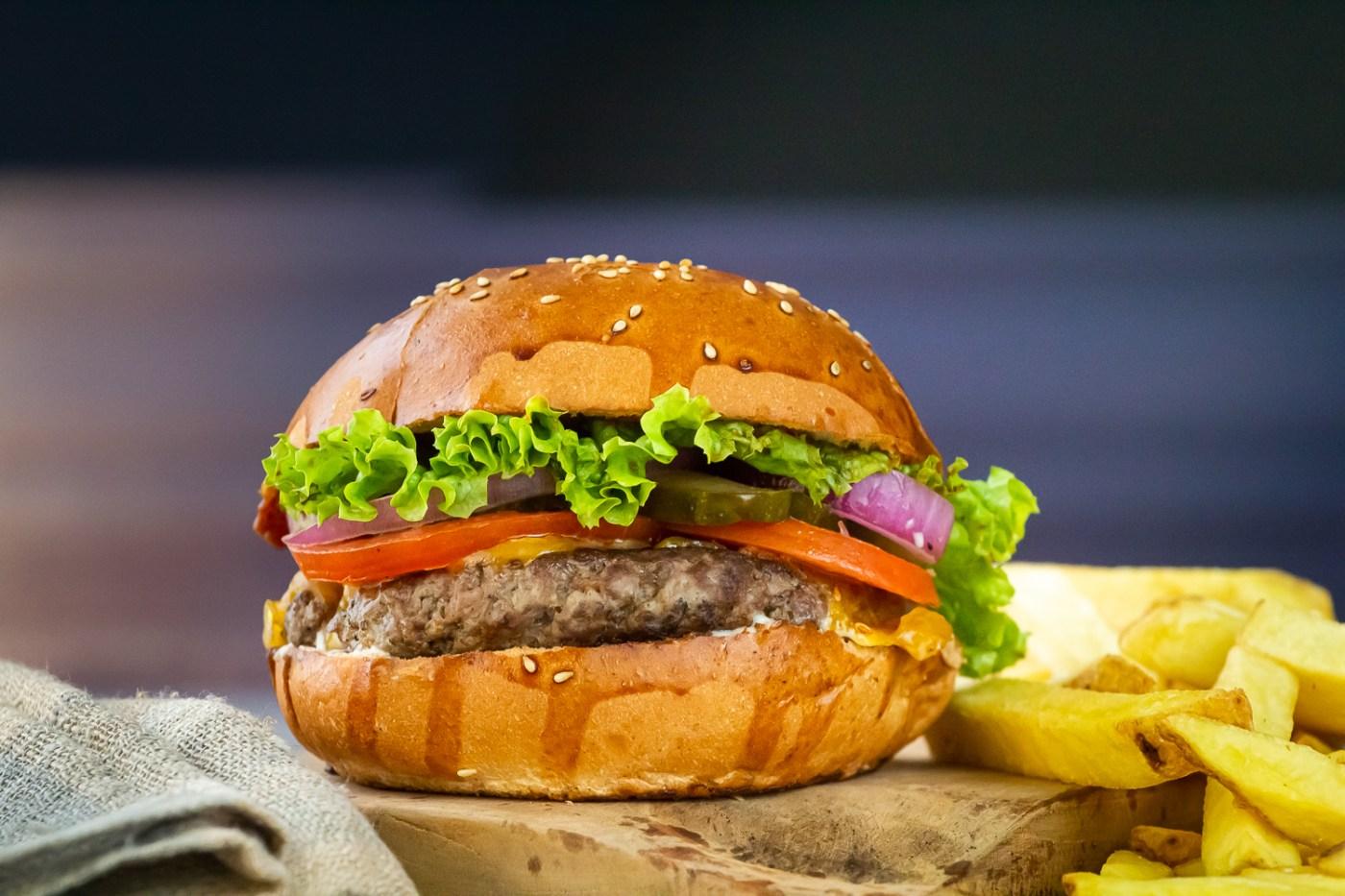 Hamburger | Fotografie jídla a pití