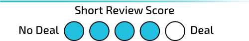 Short Review Score: 4 of 5
