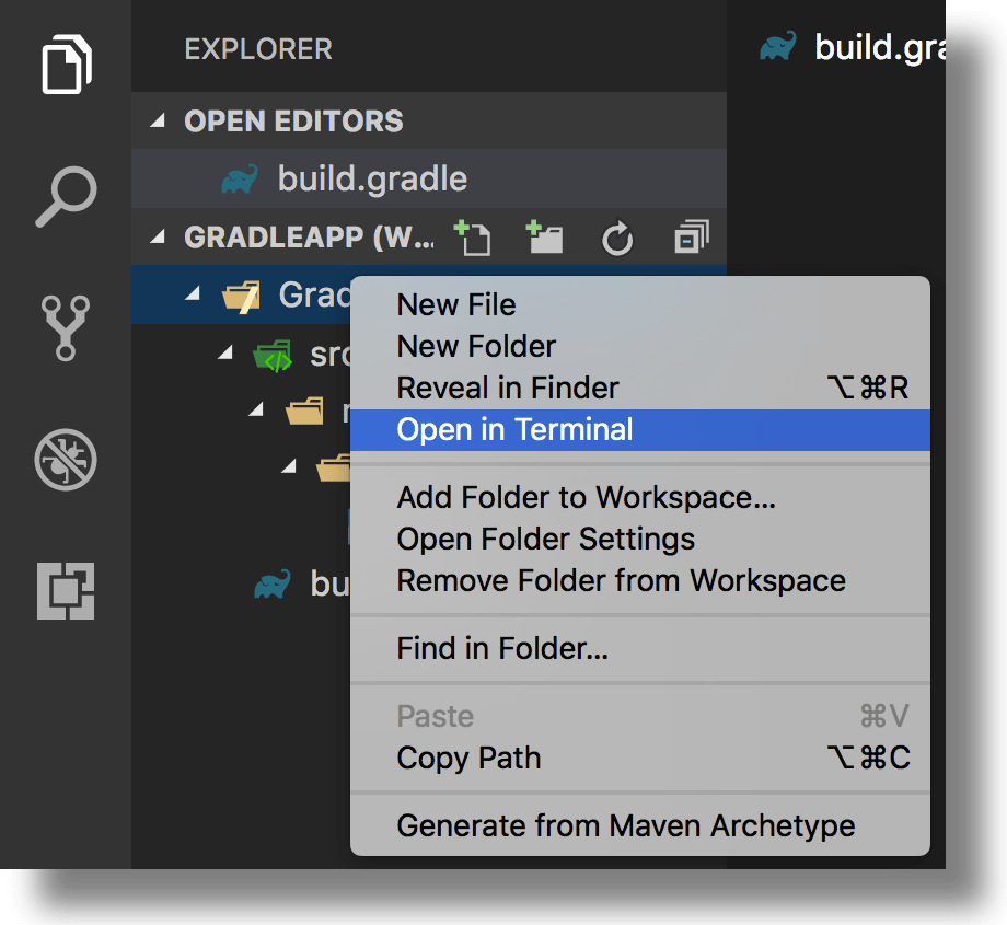 How-To – Use Gradle inside Visual Studio Code to build your