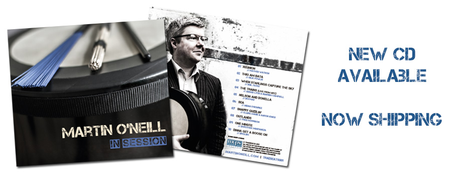 Martin O'Neill : In Session CD