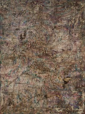 Mud and Iron II 72 x 54 inches oil on canvas