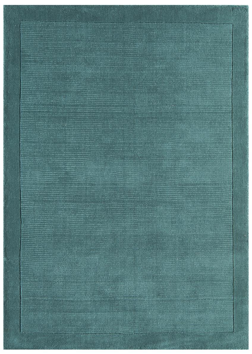 Venice Soft Plain Wool Rugs Blue Rug Martin Phillips