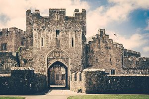 St Donat's Castle Wedding Photographer South Wales