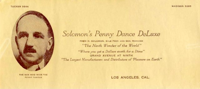 Solomon's Penny Dance DeLux , downtown Los Angeles