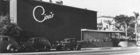 Ciro's Nightclub, 1941