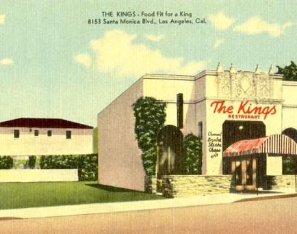 The kings restaurant 8153 santa monica blvd
