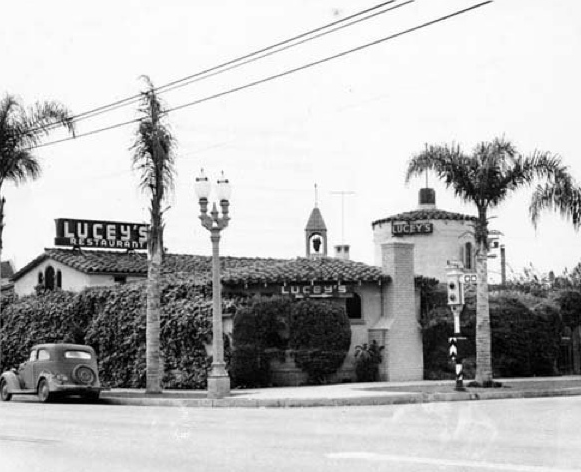 Lucey's Restaurant – 5444 Melrose Ave also across the street from Paramount