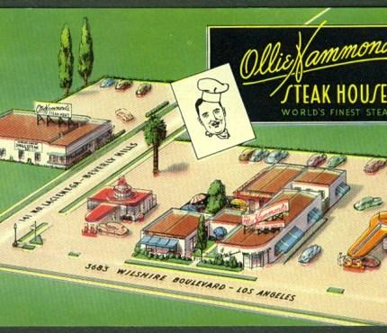 Ollie Hammond's Steak House — 3683 La Cienega