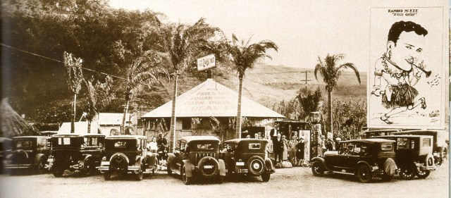 Zulu Hut on Ventura Blvd near Universal Studios, circa 1928
