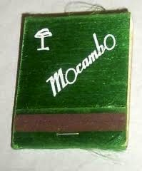 Mocambo matchbook
