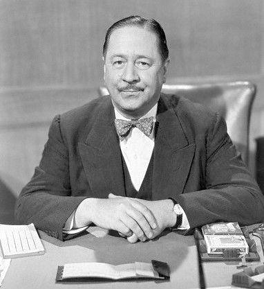 Robert Benchley at the Garden of Allah hotel