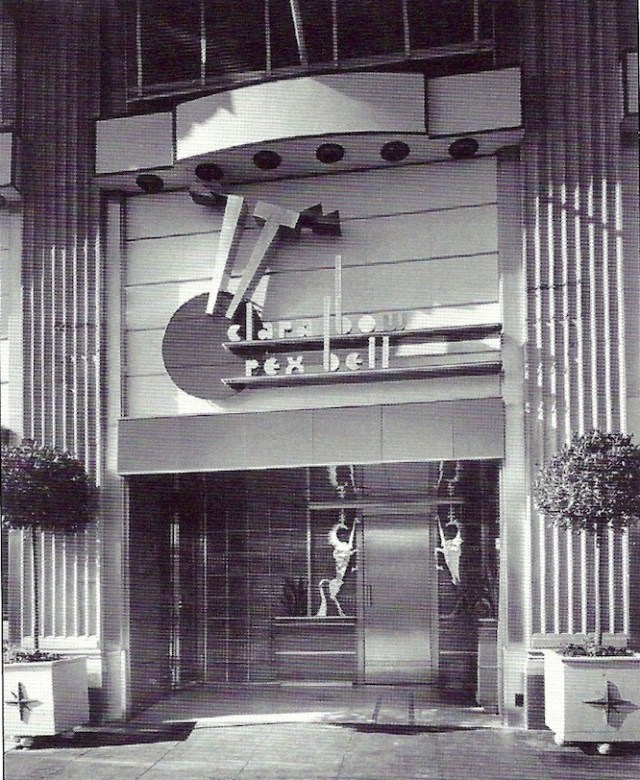 Front door ot Clara Bow's 'It Cafe', Vine Street, Hollywood, 1930s