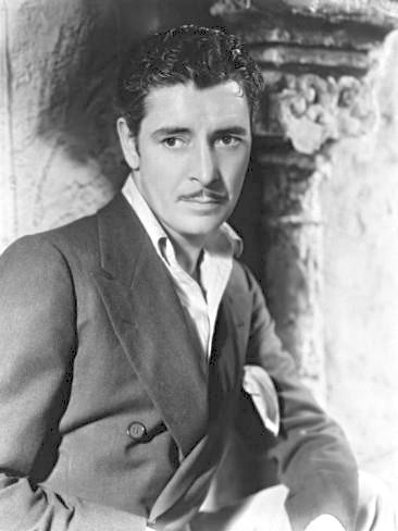 Ronald Colman at the Garden of Allah hotel