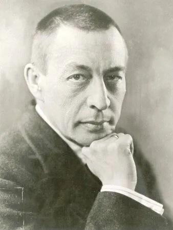 Sergei Rachmaninoff at the Garden of Allah hotel