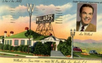Willard's, 9625 W.Pico Blvd Los Angeles