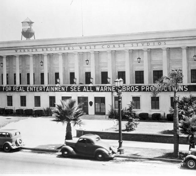 Warner Bros. Studio On Sunset Blvd. 1936