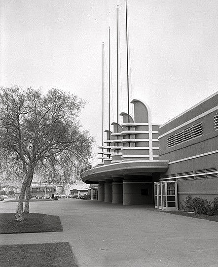 Pan-Pacific Auditorium, Los Angeles, 1956