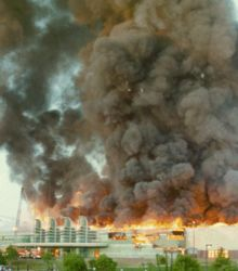 Pan Pacific Auditorium was destroyed by fire in 1989