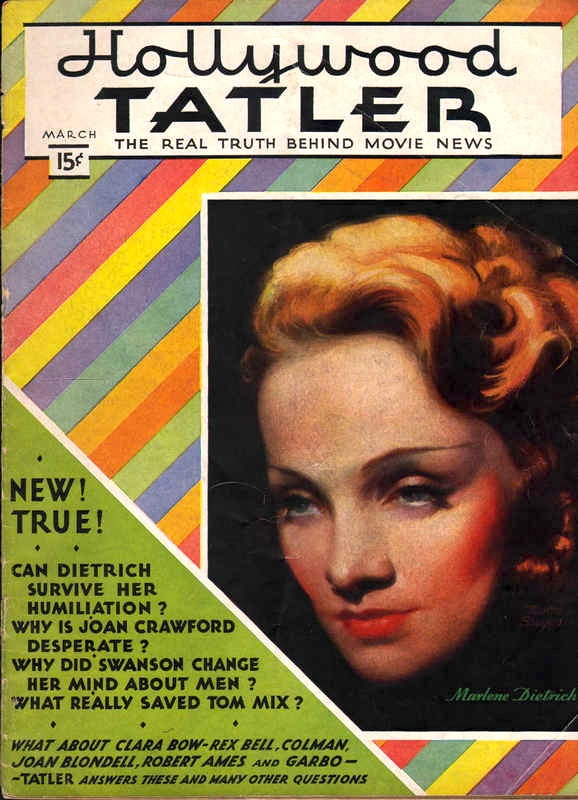 Hollywood Tatler magazine, March 1932
