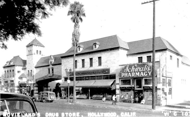 Sunset Medical Building (Crescent Heights Shopping Center), Sunset Blvd, 1938