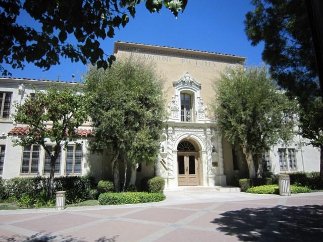 Paramount Studios administration building 2015