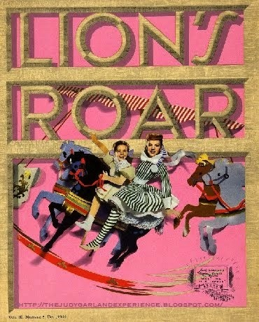 """The Lion's Roar"" MGM's monthly studio magazine, 1944"