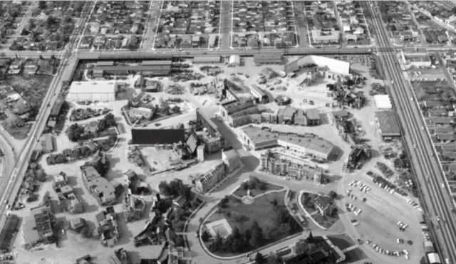 Aerial view of Columbia Ranch, Burbank