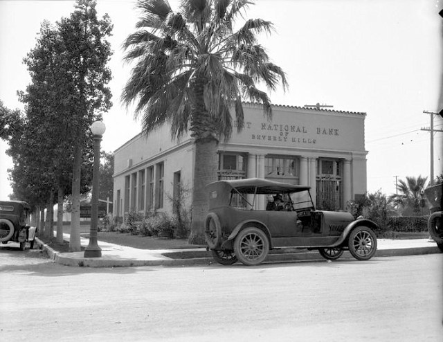 First National Bank of Beverly Hills, 1418 Burton Way, Beverly Hills, 1921