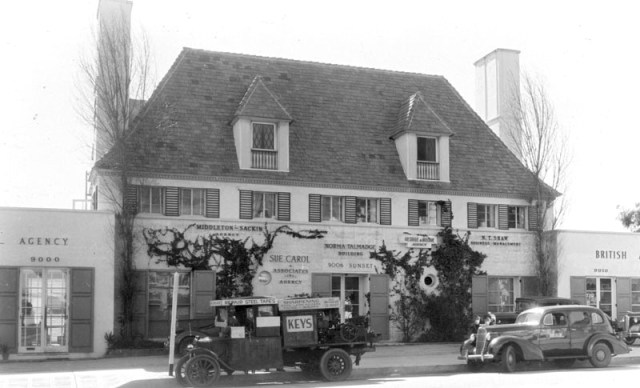 Norma Talmadge Bldg, 1938 9000-9006 Sunset Blvd., Los Angeles