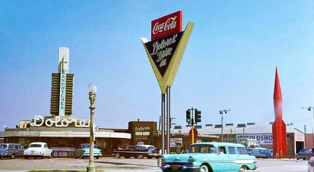 Dolores drive-in at Sepulveda Blvd and Washington Blvd, 1959.