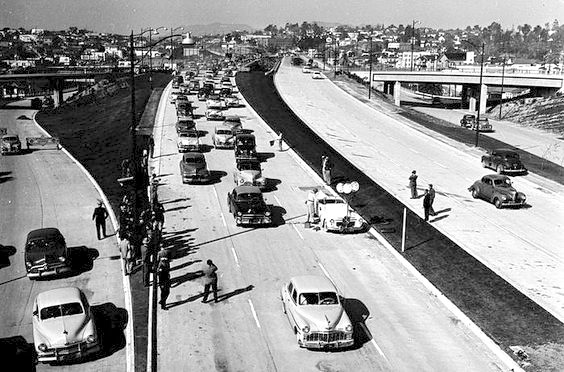 Hollywood Freeway - grand opening