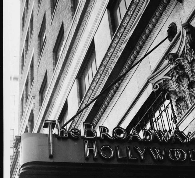 The Broadway Hollywood dept store, Hollywood Blvd