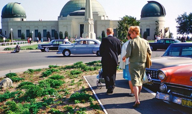 Griffith Observatory, Spring 1962