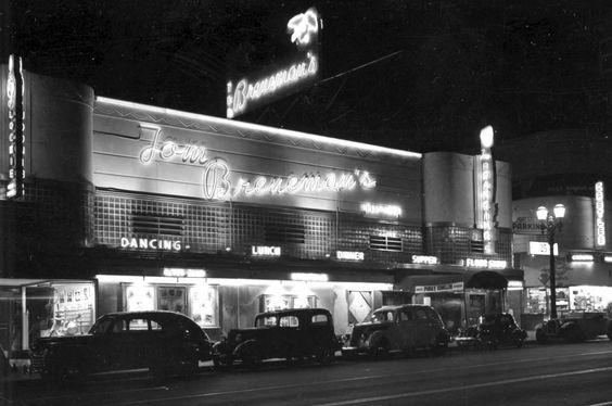 Tom Breneman's, Vine Street, Hollywood. 1947