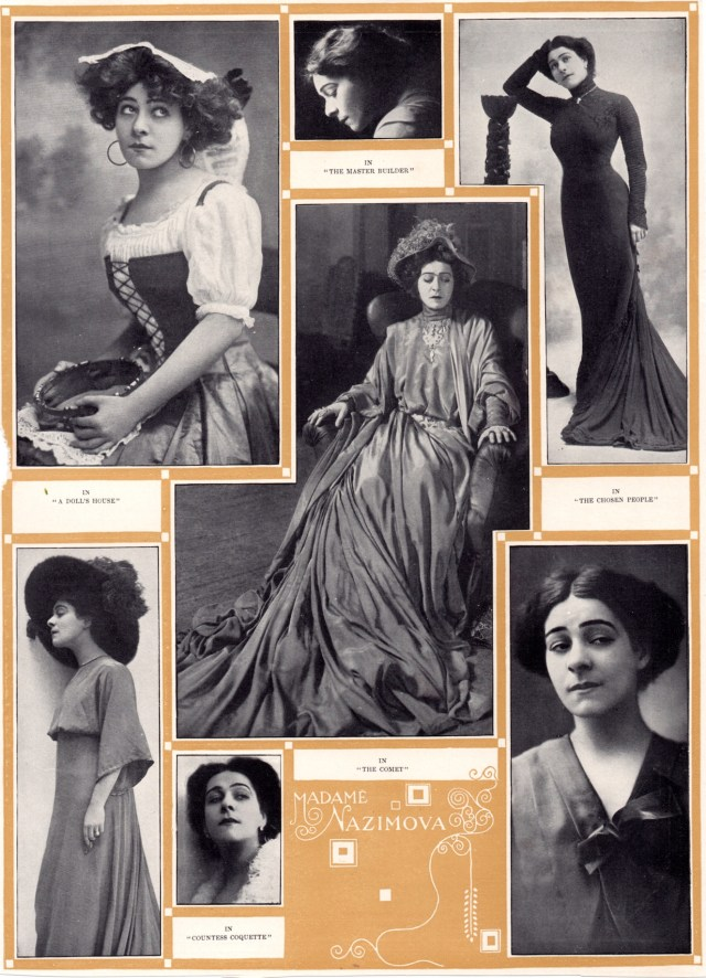 """1909 book """"Stage Actors of Today"""" by William Winter small 1"""